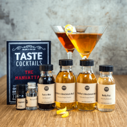 The TASTE cocktails Manhattan Box