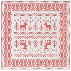 Cross Stitch Christmas Dinner Napkins (Two packs of 20)