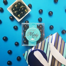 'Tall, Dark And Handsome' Gluten Free Chocolate Gift Set For Him