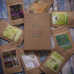 Health Box: Tasting selection superfood gift box Letterbox gift