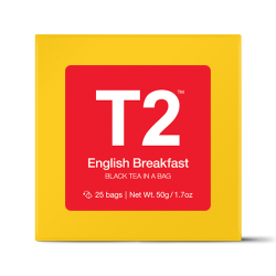 English Breakfast Teabag Gift Cube