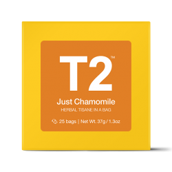 Just Chamomile Teabag Gift Cube