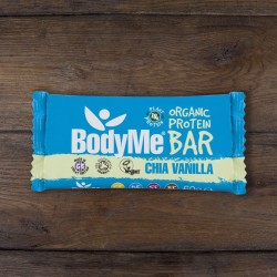 Organic Raw Chia Vanilla Protein Bars with 3 Plant Proteins