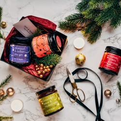 Christmas Gift Set Of Alcoholic Jams