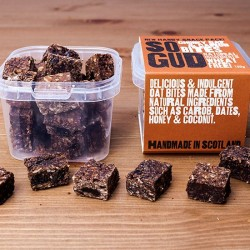 Chunky Oat and Carob Snacks