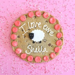 'I Love Ewe' Valentine Chocolate Chip Cookie Card