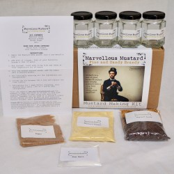 Fine & Dandy Brandy Mustard Making Kit