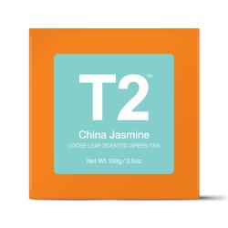 China Jasmine Loose Leaf Green Tea Gift Cube
