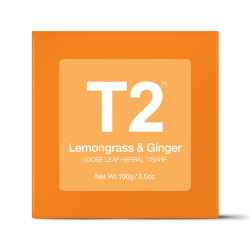 Lemongrass and Ginger Loose Leaf Herbal Tisane Gift Cube
