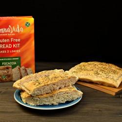 Gluten Free Garlic & Rosemary Focaccia Bread Kit