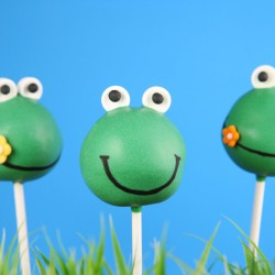 Frogs Cake Pops (Set of 10)