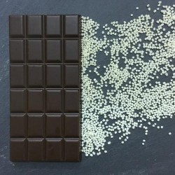 Handmade Dairy Free Milk Chocolate Bars with Milk Crunch (3 bars)