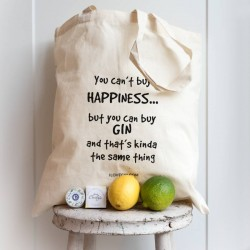 Gin Lovers Gin Bag - You Can't Buy Happiness