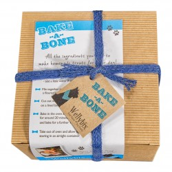 'Bake a Bone' Bake at Home Dog Biscuit Kit (Chocolate Carob & Mint)
