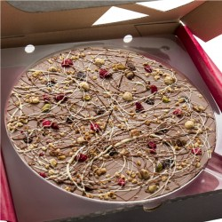 Crazy Crunch Chocolate Pizza