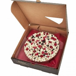 Fruit Frenzy Chocolate Pizza