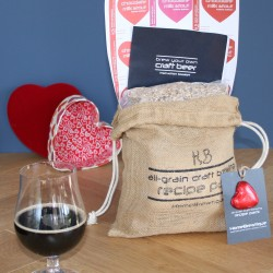 Valentine Chocolate Milk Stout Recipe Pack
