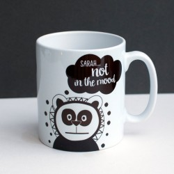 Moody Panda Coffee Mug