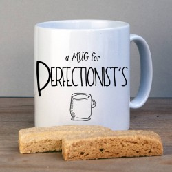 Perfectionist Personalised Mug
