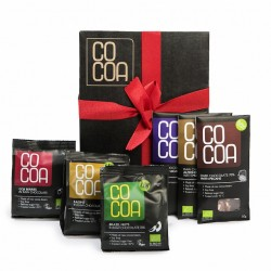 Raw Organic Chocolate Gift Box 4 - Fruit & Nut Bags & Bars