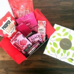 Limited Edition Valentines Hamper Gift Box (Organic, Vegan & Gluten-free)