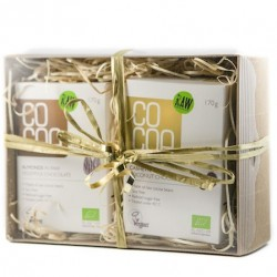 Raw Organic Chocolate Gift Box - White
