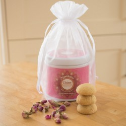 Gift wrapped Spiced Shortbread Gift Tin