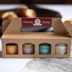 Nutural World Nut Butter Mini Jar Collection (4 pack)