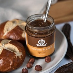 Hazelnut and Carob Spread