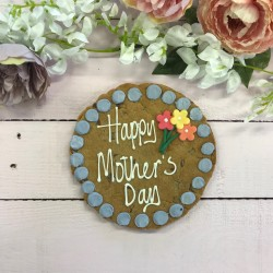 Floral Mothers Day Giant Chocolate Chip Cookie Card