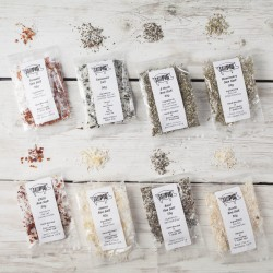 Salt Pigs Flavoured Sea Salts Collection with 8 Flavoured Salts