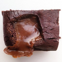 Sea Salted Butterscotch Brownie – Serves 10 (Gluten Free)