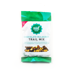Organic Raw Chocolate & Mulberry Trail Mix Box