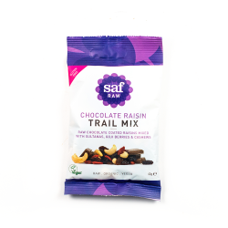 Organic Raw Chocolate & Raisin Trail Mix Box