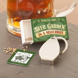 Grow Your Own Beer Garden in a Matchbox Gift