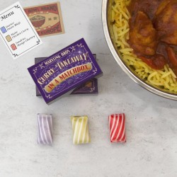 Curry Takeaway In A Matchbox Gift