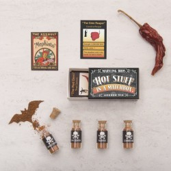 Horror Mix World's Hottest Chilli Powders In A Matchbox Gift