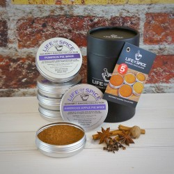 Gourmet Baking Spices Collection (5 Tin Gift)