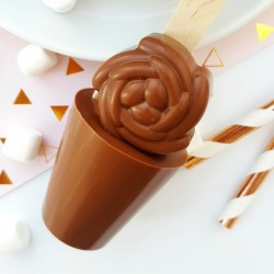 Mother's Day Hot Chocolate Spoon and Lollipop Bundle