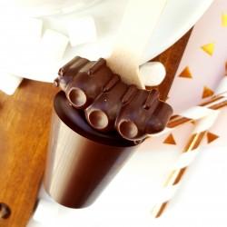 Set of 3 Dairy Free Caterpillar Hot Chocolate Stirrers