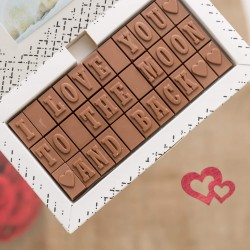 Personalised Chocolate Love Letter