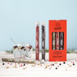 Gin & Tonic Botanicals Tube Gift Set