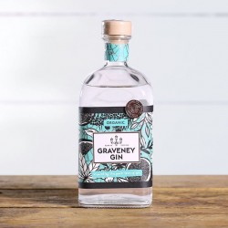 Graveney Gin - Organic Gin (Illustrated Gift Box option)