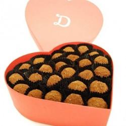 Heart Truffle Box (48 Truffles)