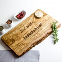 Personalised Raw Edge Cheese Board