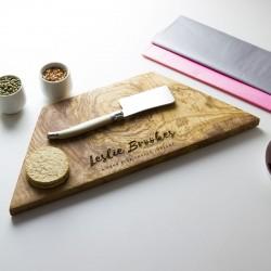Personalised Geometric Chopping Board