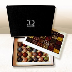 Variety (Ganache and Caramel) Luxury Chocolate Box