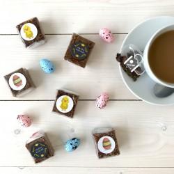 Indulgent Easter Brownies & Tea