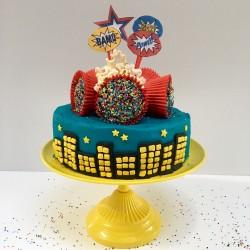 The Superhero Cake Kit