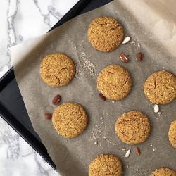 Turmeric & Tahini Cookie Bites (Vegan)